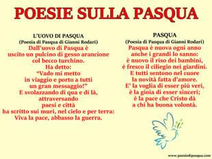 Poesie Di Pasqua Tante Bellissime Poesie Di Pasqua