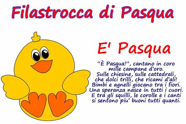 Immagine Filastrocca Di Pasqua Bella Immagine Filastrocca Di Pasqua